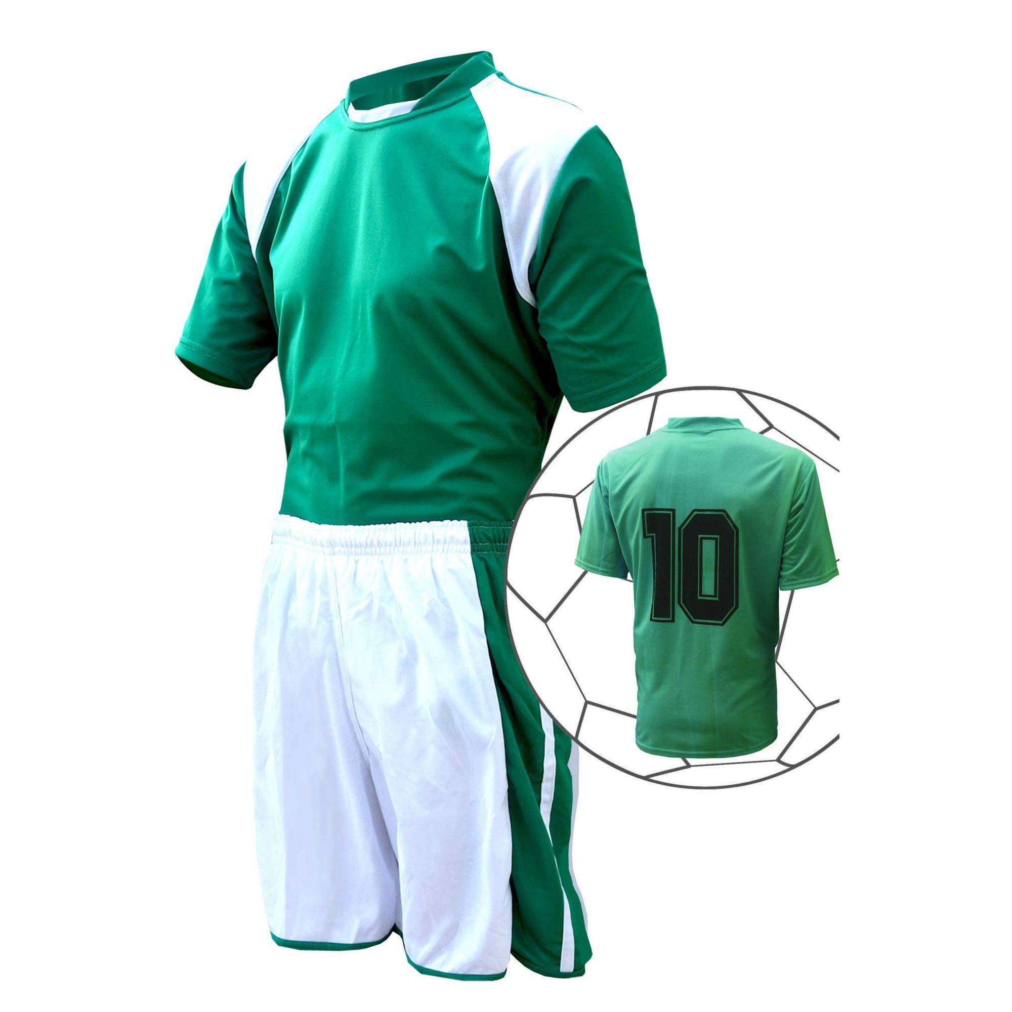 Uniforme de Futebol 10 + 1 Avante Ligth