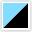Azul Celeste - Preto