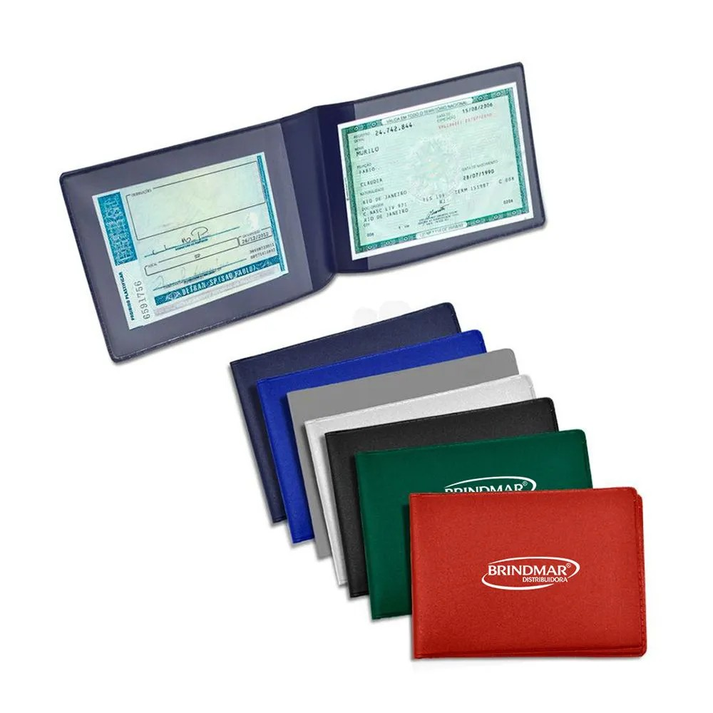 Carteira Despachante Horizontal c/1.000 unidades