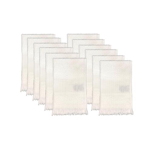 12 Toalhas de Lavabo Para Bordar Branca Capri II Dohler