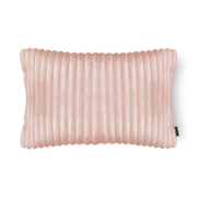Almofada Canelada em Soft Retangular 28x48cm Rosa Belchior