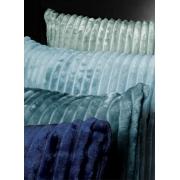 Almofada Canelada Soft Blue 43x43 Belchior