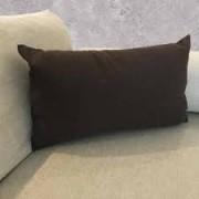 Almofada Preta Retangular 30x50 Suede - Paloma Home