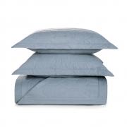 Cobre leito queen azul algodão Liss Allure - karsten