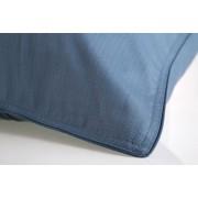 Fronha Algodão Egípcio 300 fios Azul Petróleo 59St - By The Bed - Design Industrial