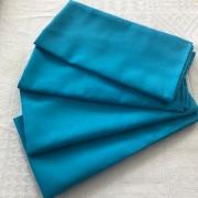 Guardanapo de tecido 4 peças Turquesa MicroOxford Paloma Home