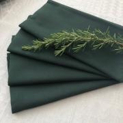 Guardanapo de tecido 4 peças Verde Musgo MicroOxford P. Home