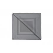 Guardanapo de Tecido 6 peças Cinza Granito Jacquard Karsten