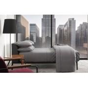 Jogo de Cama Casal Egípcio 300 fios Preto & Branco 59ST By The Bed - Design Industrial