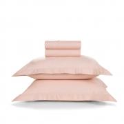 Jogo de Cama Casal Size Piero Soft Rosé Trussardi