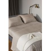 Jogo de Cama King Cinza Egípcio300fios Ludlow By The Bed