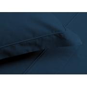 Jogo de Fronhas Trussardi Piero 50x70cm Azul Marinho Trussardi