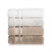 Jogo de toalhas banhão Lorenzi 2 peças Cinza gelo Trussardi