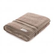 Jogo de toalhas banho Lorenzi 2 peças Bege Legno Trussardi