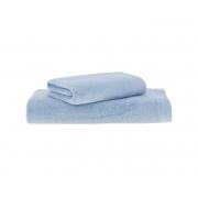 Jogo de Toalhas de Banho Azul Dual Air 2 Peças Banho + Rosto Buddemeyer