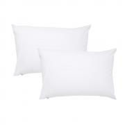 Kit 2 Capas Protetoras Para Travesseiro Antialérgica 50x70cm Premium Casa Paloma