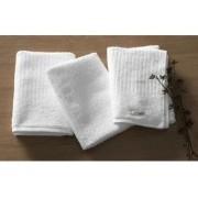 Kit 3 panos de copa atoalhados brancos Milan - qualidade superior de alta absorção - Karsten