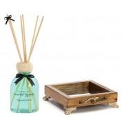 Kit Aromatizador de Ambientes - Alecrim (difusor de aromas + bandeja espelhada) casa del grande