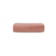 Manta Henry Casal Premium Rosa Pessego Natural Karsten