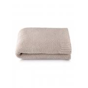 Manta Tricô Bege Fendi 1,25x1,50 Loom By The Bed