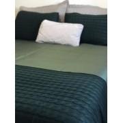 Peseira Tricot Clássico Verde Musgo C 1,80x60 Paloma Home