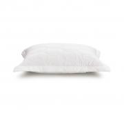 Porta Travesseiro Matelassado Branco 180 fios 100% Algodão Liss Karsten