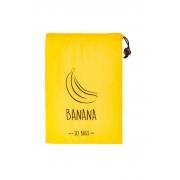 Saco de Armazenagem Para Bananas Amarelo - So Bags