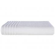 Toalha Banhão Branca Imperiale 86x150cm - 540g/m2 - Trussardi