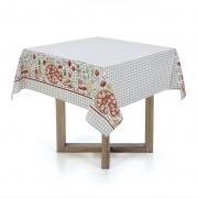 Toalha de mesa Quadrada 140X140 Pizzaria Karsten