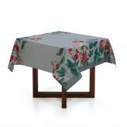 Toalha de mesa Quadrada 4 lugares Blenda 1,40x1,40m - Dia a Dia - Karsten