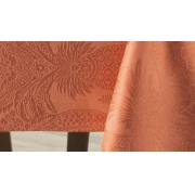 Toalha de Mesa Redonda 1,78 Terracota Sempre Limpa karsten