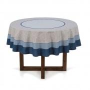 Toalha de mesa redonda - 4 lugares - limpa fácil - ariana - karsten
