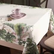 Toalha de Mesa Redonda Dia a Dia 4 Lugares Silvestre Karsten