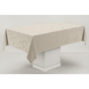 Toalha de mesa Retangular 12 Lugares Veríssimo Noz Moscada - Celebration - karsten
