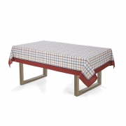 Toalha de mesa Retangular 140x210 Amelí Grid Karsten