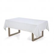 Toalha de mesa Retangular 140x250 Arbela Branca Karsten