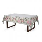 Toalha de mesa Retangular 6 lugares - 1,60x2,20m - Jardina - sempre limpa - Karsten