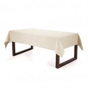 Toalha de mesa Retangular Bege 12Lug. 160x320 Mendi Karsten