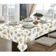 Toalha de mesa retangular limpa fácil - 6 lugares - 1,40 x 2,10m cactos pratic raner