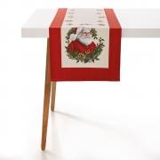 Trilho de Mesa de Natal Papai Noel 42x160m Karsten