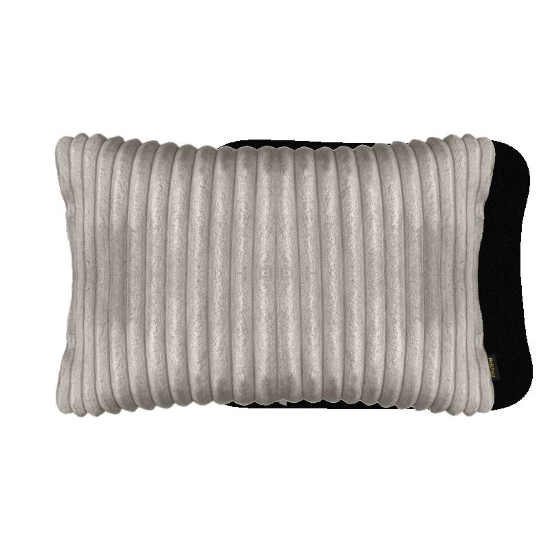 Almofada Canelada em Soft Retangular 28x48cm Fendi Belchior