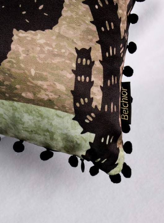 Almofada Cordel Ludic Grelot 167 Cacto Com Verde 43x43 Belchior
