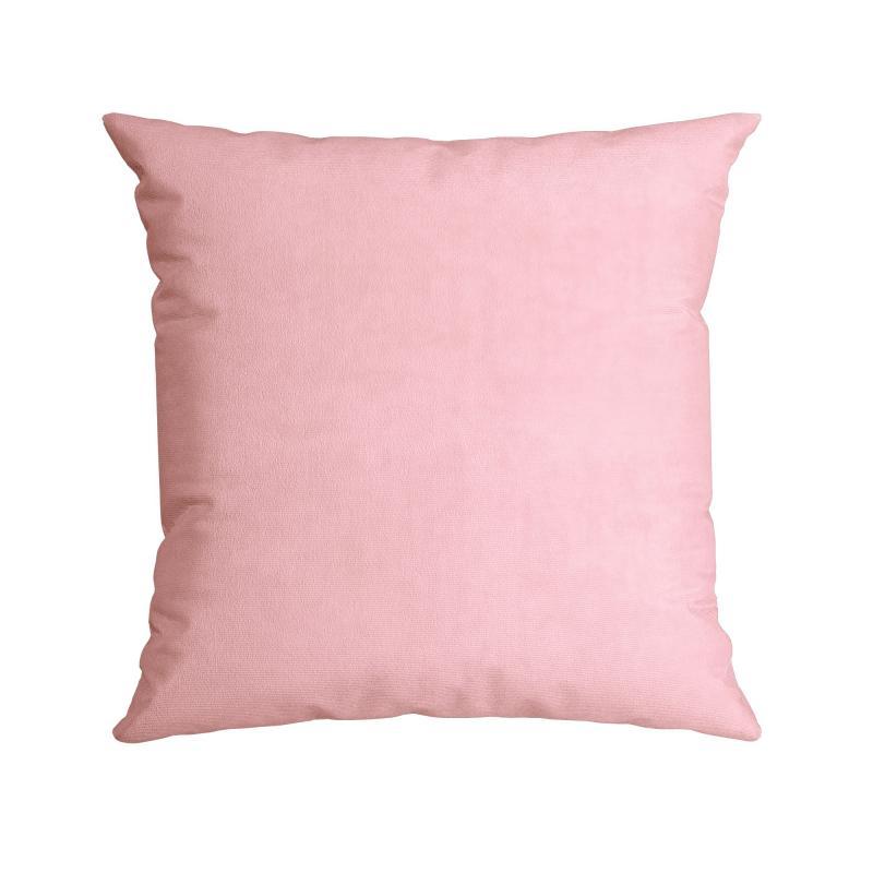 Almofada Quadrada Aveludada Rosé Dolce Candy - Belchior