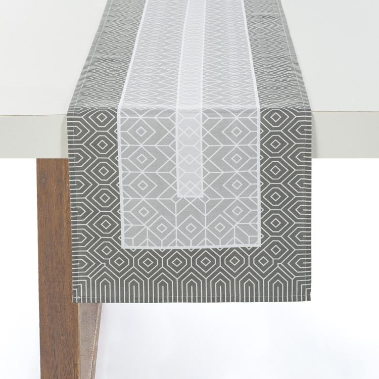Caminho de mesa Retangular 30x100 Dalmeni Karsten