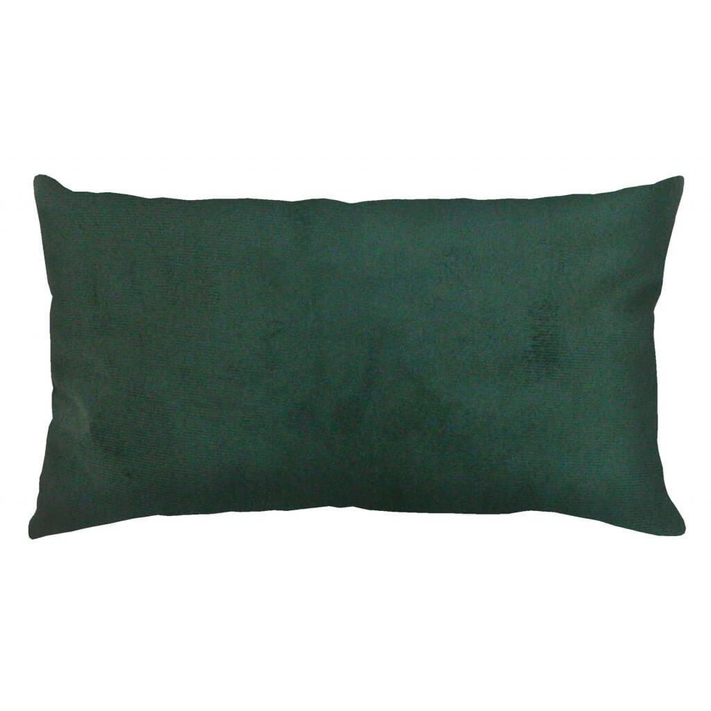 Capa de Almofada Verde Musgo Retangular 30x50 Suede Paloma Home