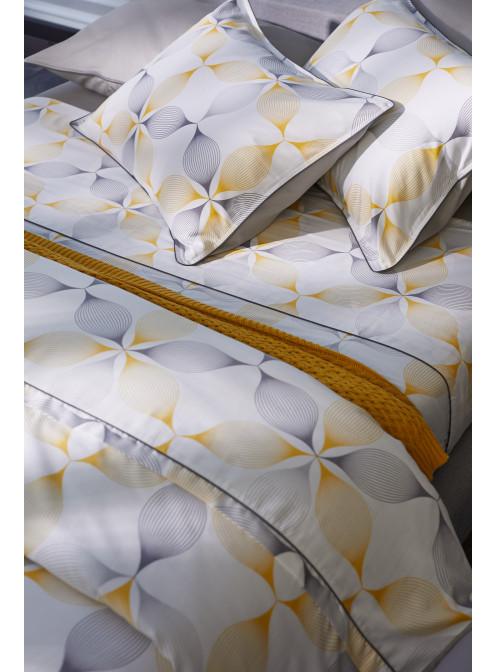 Capa de Edredom Duvet Queen Egípcio 300 fios Henge By The Bed