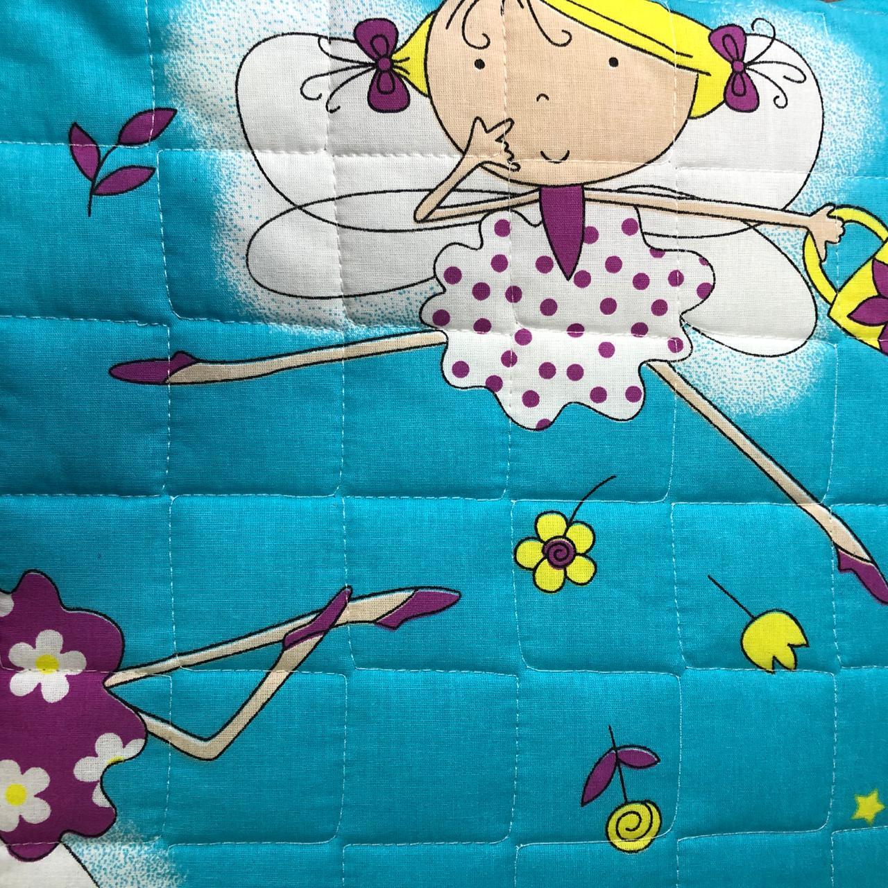 Cobre Leito infantil Fada Turquesa algodão Moderno - Beli
