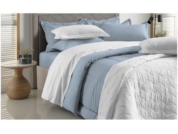 Cobre Leito queen Branco 100% algodão 180 fios Liss - karsten