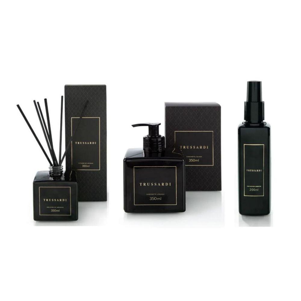 Difusor de aromas sabonete líquido e perfume ambiente trussardi