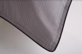 Duvet King Egípcio 300 fios Preto & Branco 59St By The Bed - Design Industrial
